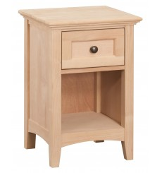 McKenzie 1 Drawer Nightstands