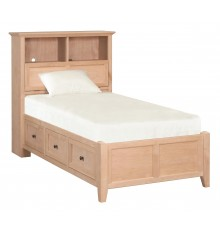 McKenzie Bookcase Storage Beds