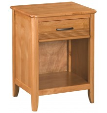 [22 Inch] Pacific 1 Drawer Nightstand