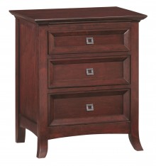 [24 Inch] Cascade 3 Drawer Nightstand