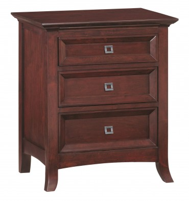 1108GBCH Cascade 3 Drawer Nightstand