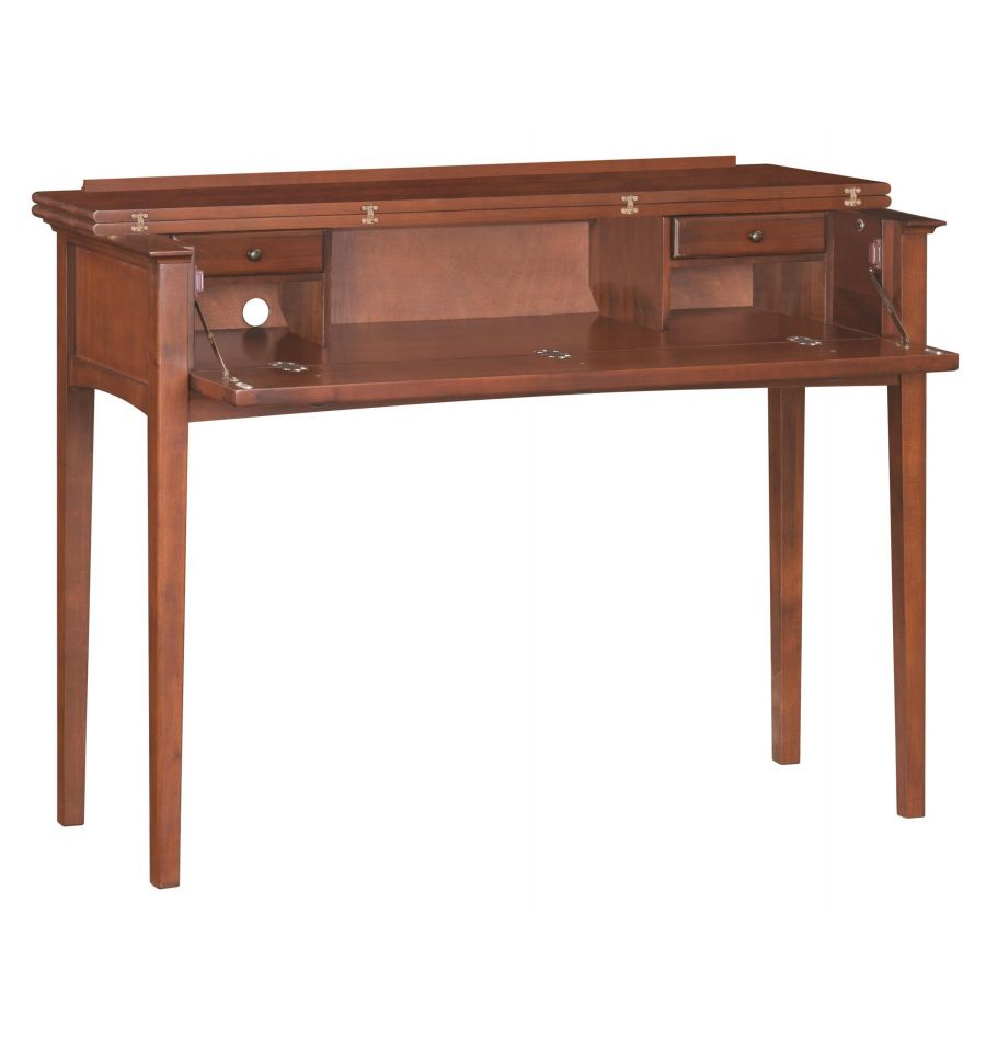 50 inch mckenzie console desks bare wood fine wood for Sofa table 50 inches