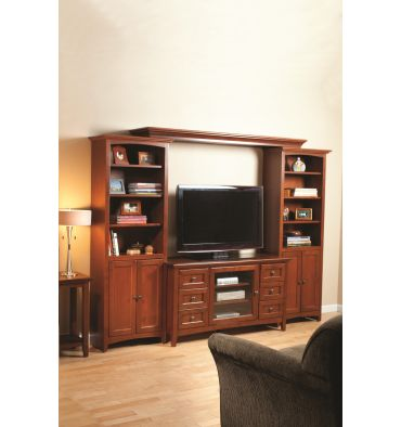 McKenzie Bookcases with Doors