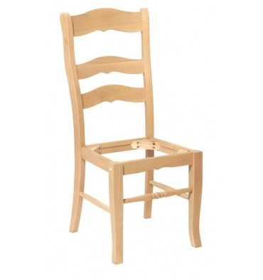 Bordeaux Chair Frames - Bare Wood Fine Wood Furniture | Groton, CT