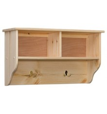 [32 Inch] Double Wall Cubby