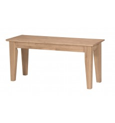 [39 Inch] Shaker Benches