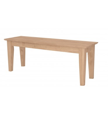 [47 Inch] Shaker Benches