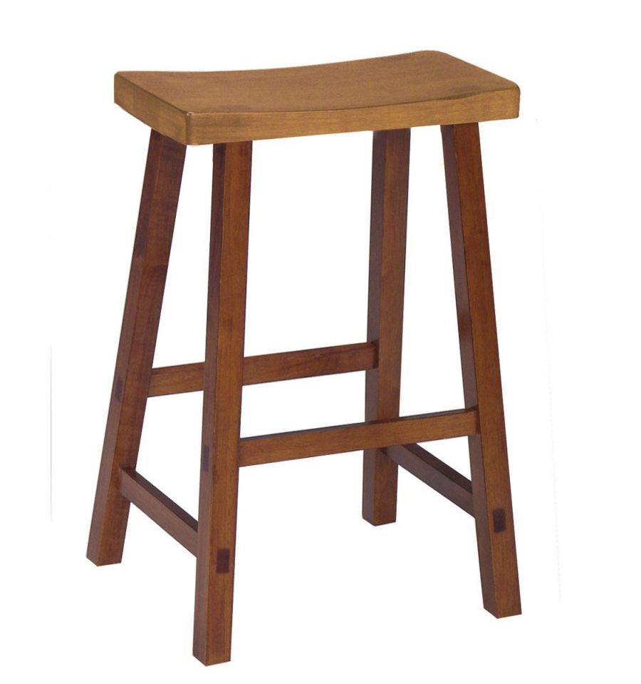 Saddle Seat Stools Bare Wood Fine Wood Furniture