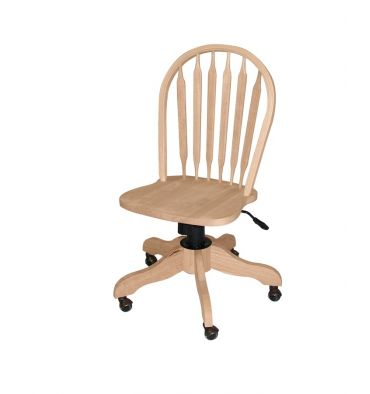 Arrowback Desk Chair