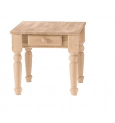 [26 Inch] Traditional End Table