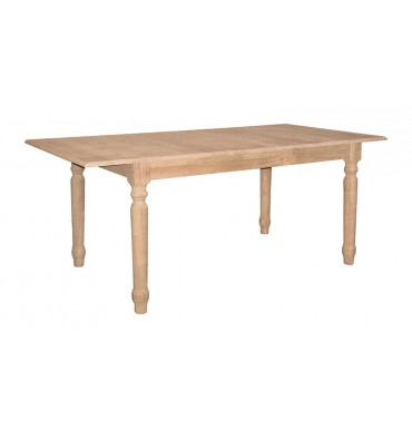 [72 Inch] Farmhouse Butterfly Dining Table