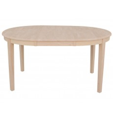 [60 Inch] Shaker Oval Butterfly Dining Table
