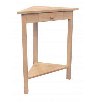 [19 Inch] Small Corner Table