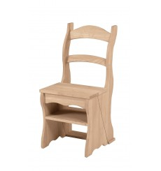 [16 Inch]  Fold-over Ladder Chair