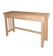 [45 Inch] Mission Sofa Table Table