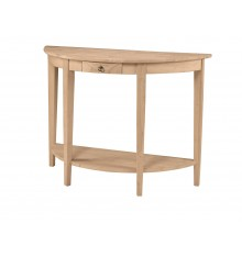 [43 Inch] Crescent Entry Table