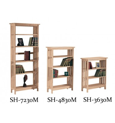 [30 Inch] Mission Bookcases