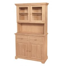 [41 Inch] Shaker Buffet and Hutch