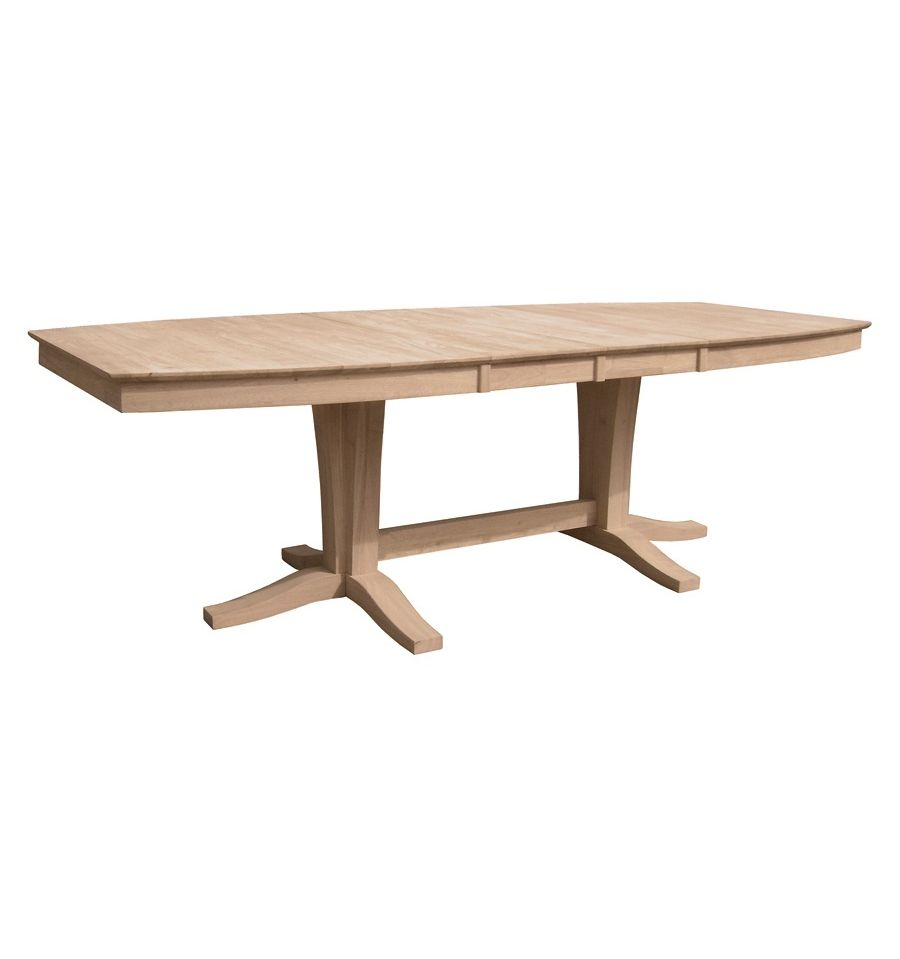 [96 Inch] Milano Dining Table   Unfinished ...