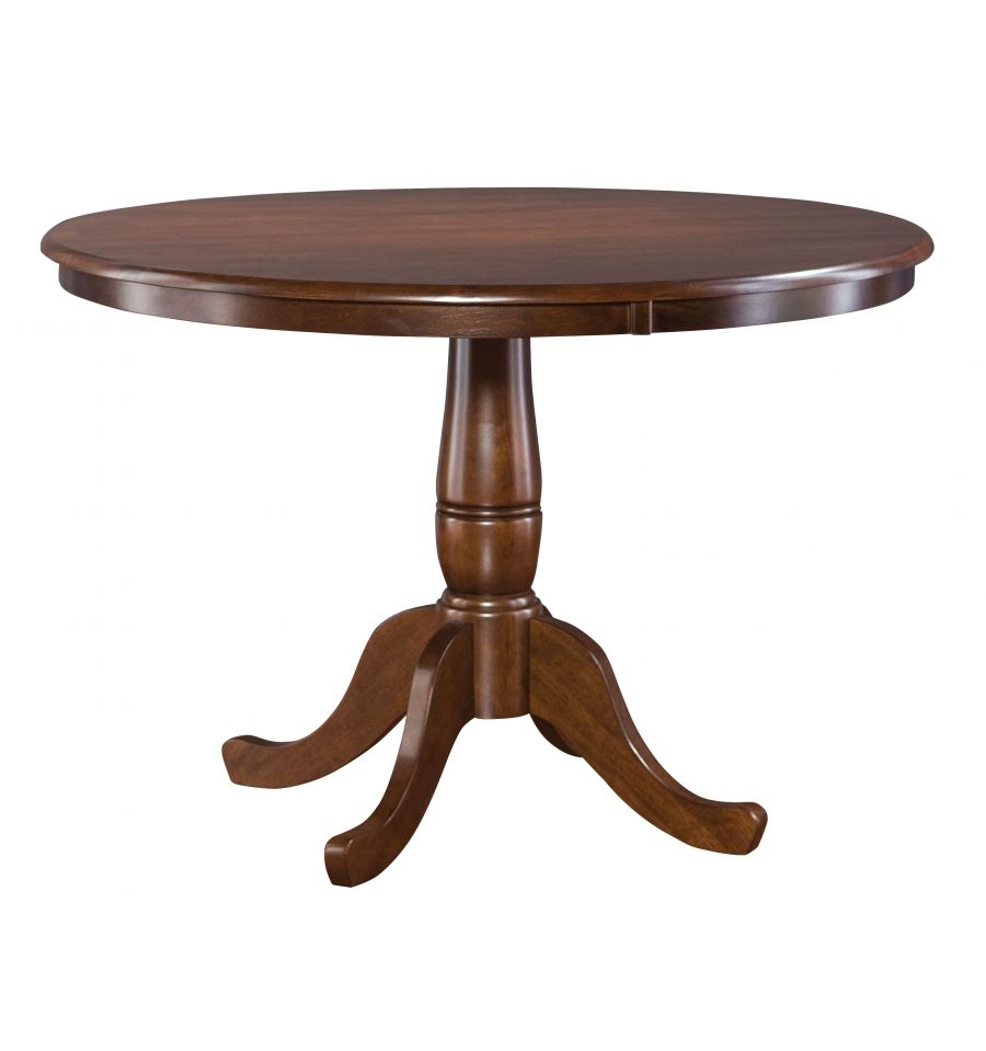 ... Inch] Classic Round Table - Bare Wood Fine Wood Furniture | Groton, CT