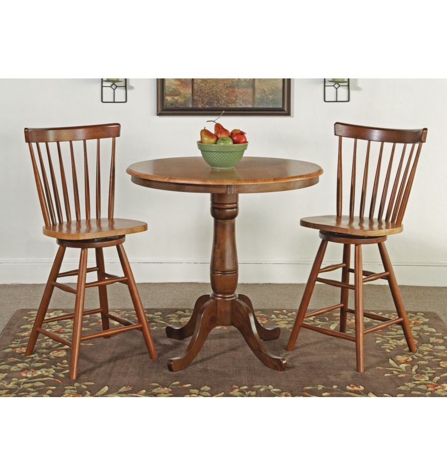 36 inch classic round table bare wood fine wood furniture groton ct. Black Bedroom Furniture Sets. Home Design Ideas
