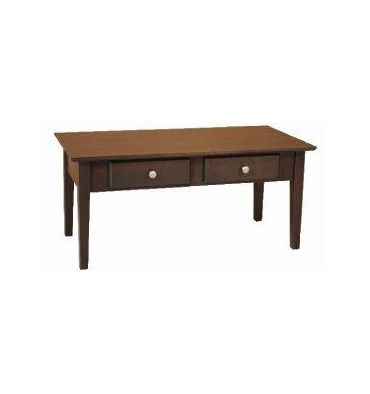 [40 Inch] Alder Shaker Coffee Table