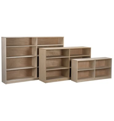 AWB Nola Bookcases with Center Divider | V