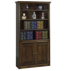 AWB Face Frame Crown Bookcases | BK1