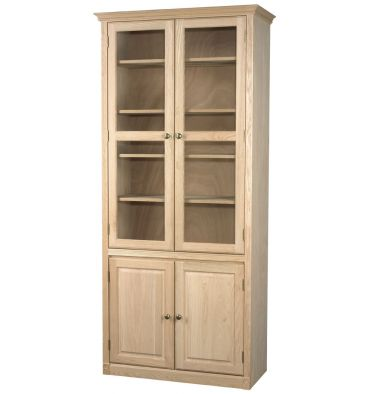 AWB Regal Bookcases w Doors - Glass Doors
