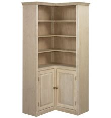 AWB Federal Crown | Corner Bookcases | BK7