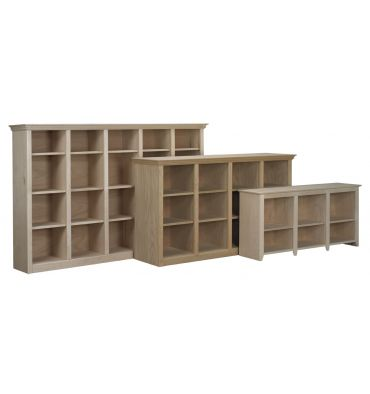 AWB Face Frame Crown Bookcases | BK8