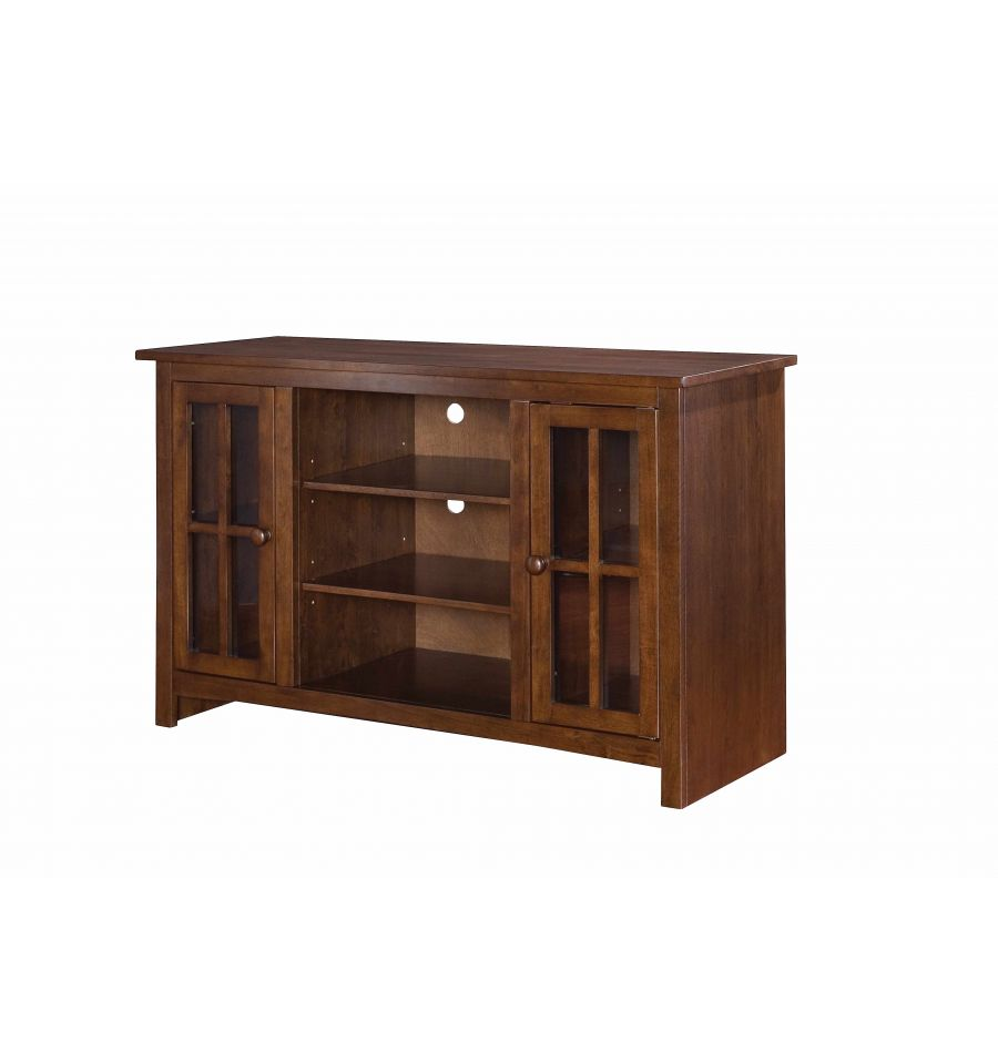 48 Inch Franklin Tv Console Bare Wood Fine Wood