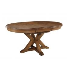 [66 Inch] Canyon Pedestal Table