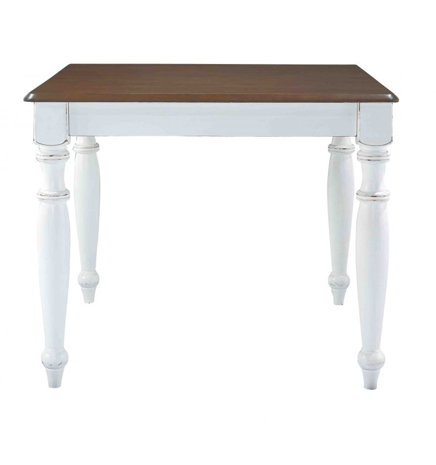 36 Inch Bridgeport Dining Tables Bare Wood Fine Wood