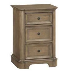[21 Inch] Stonewood 3 Drawer Nightstand