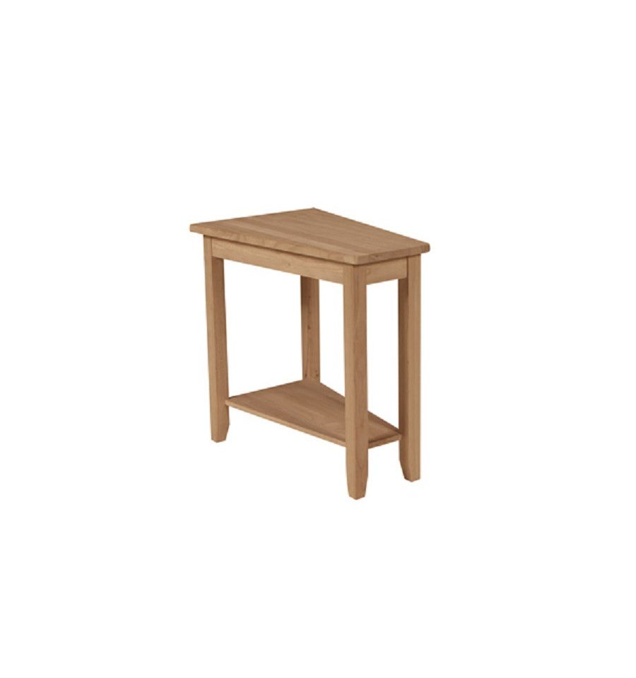 9 Inch Keystone Accent Table